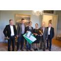 Priserna för Årets Nybyggare i Gävleborg går till Salar Saidi i Sandviken och Mira Jonsson i Hudiksvall