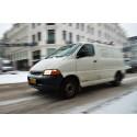 Chokerende lille antal varebiler på vinterdæk