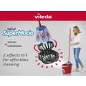 Puhtaat lattiat täysin uudella twistillä – Vileda SuperMocio