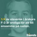 Friendsrapporten 2016 —  med unika uppgifter från de yngsta eleverna