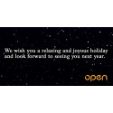 Open Communications wishes you a relaxing and joyous holiday!