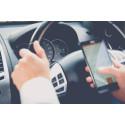1 av 4 bilister bryter mot mobilförbudet