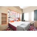 Två Motel L på Fem i topp-listan över Stockholms bästa hotell