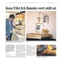 Bømlo gutt brukte media positivt til å få utstilling på Kon-Tiki Museet!
