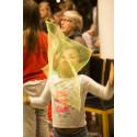 Cirkushoppet sprider skratt, hopp och framtidstro till asylsökande
