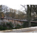 En historisk bro på plats