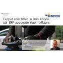 Scanreco tänkte in Tabellae från början av ERP-uppgraderinge