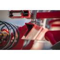 De effektiva spridarplåtarna säkerställer en jämn fördelning över maskinens hela arbetsbredd.