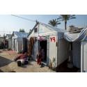 Nya nödbostäder åt människor på flykt – för första gången i stor skala