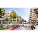 Tyréns har undersökt det framtida lokalklimatet i stadsdelen Täby Park