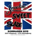 Legendariska Sweet, Slade och Smokie till Göteborg och Helsingborg sommaren 2015!