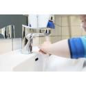 Svensk undersøgelse bekræfter:  Energieffektive vandhaner giver  markante besparelser på vandforbruget
