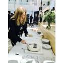 Quartier Properties första säljdag på First North firas med tårta