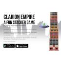 Clarion Hotel lanserar ett eget mobilspel, Clarion Empire, i samarbete med prisbelönade spelstudion Hello There.