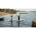 Saltstänkt träning med SUP-yoga