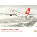 New partners: Skiers Accredited and Swiss International Air Lines