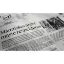 """Landets kyrkoledare på SvD debatt: """"Människovärdet måste respekteras"""""""