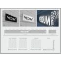 Förstudie utförd för Vedum Kök och Bad AB rörande 4 butiker och en interiör taktil prototypskylt för showroom