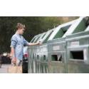 Nya behållare till alla återvinningsstationer i Lilla Edet