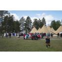 Lavvun på samiska kyrkodagarna