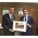 Israeli ambassador meets council leader