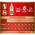 Diageo lanserar ny etikett på sina spritflaskor i Sverige