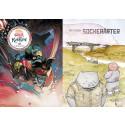 Två serietecknare korsar Europa för att gästa Ordbilders monter på bokmässan i Göteborg i höst