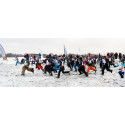 2 400 fjärdeklassare åker skidor på Gärdet
