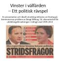 """Skandaler avslöjande i Reepalu utredningen om """"Ordning och reda i välfärden"""""""