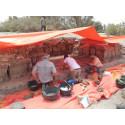 Nyt fund af stenredskaber i Jordan afdækker spisevaner hos tidligste mennesker