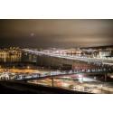 Sundsvall bildade världens längsta fackeltåg!