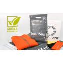 Nedbrytbart material ger grönare möjligheter – Avisera levererar biologiskt nedbrytbara kassar till Houdini