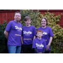 ​Eight-year-old stroke survivor takes on Resolution Run for the Stroke Association