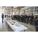 Engcon har for nylig indviet endnu en fabrik i selskabets hjemby Strömsund.