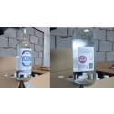 HMRC seized fake vodka labels front and back