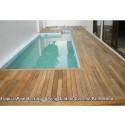 New Wood Decking Completed by Evorich ~ Private Wad Pool Decking