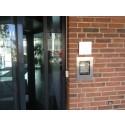 Porttelefon med pekskärm för Norrporten i Köpenhamn
