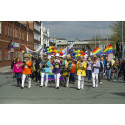 ​Over the Rainbow – hundreds enjoy Bury Pride