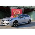 Subaru Impreza är Årets Bil i Japan