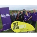 Stroke survivors tee off in Fleetwood
