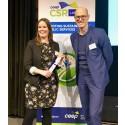 Uppsalahems hållbarhetsarbete får europeiskt pris