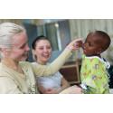 Zara i Ghana - hälsoundersökningen