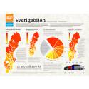 Grå Volvo er svenskenes desiderte bruktbilfavoritt