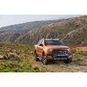 Pickup til det grove og til det sjove: Ford Ranger med nyt design, mere sikkerhed og flere kræfter
