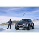 Shackleton's Return - Hyundai Santa Fe blir första personbil att korsa Antarktis.