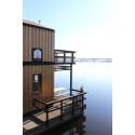 Nu blir flytande huset i Sundsvalls hamn ännu smartare