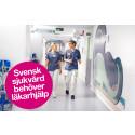 Svensk sjukvård behöver läkarhjälp – Läkaresällskapet lanserar idéprogram för förbättrad hälsa  och sjukvård