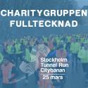 Charitygruppen i Stockholm Tunnel Run har genererat 660 900kr till Stockholms Stadsmission!