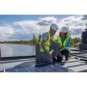 Installation av solceller