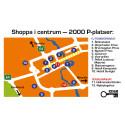 Shoppa i Nyköping - 2000 centrumnära parkeringar